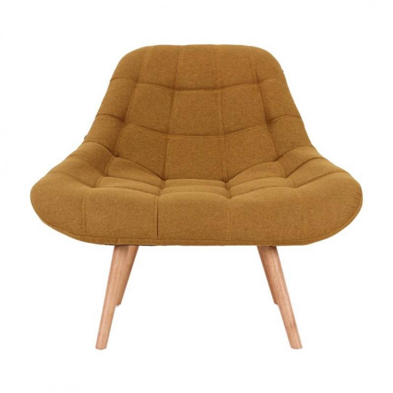 MINAY chair feet wood L95xP54 fabric, 5xH87cm