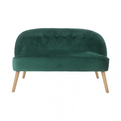2-seater velvet sofa - MOUZ...