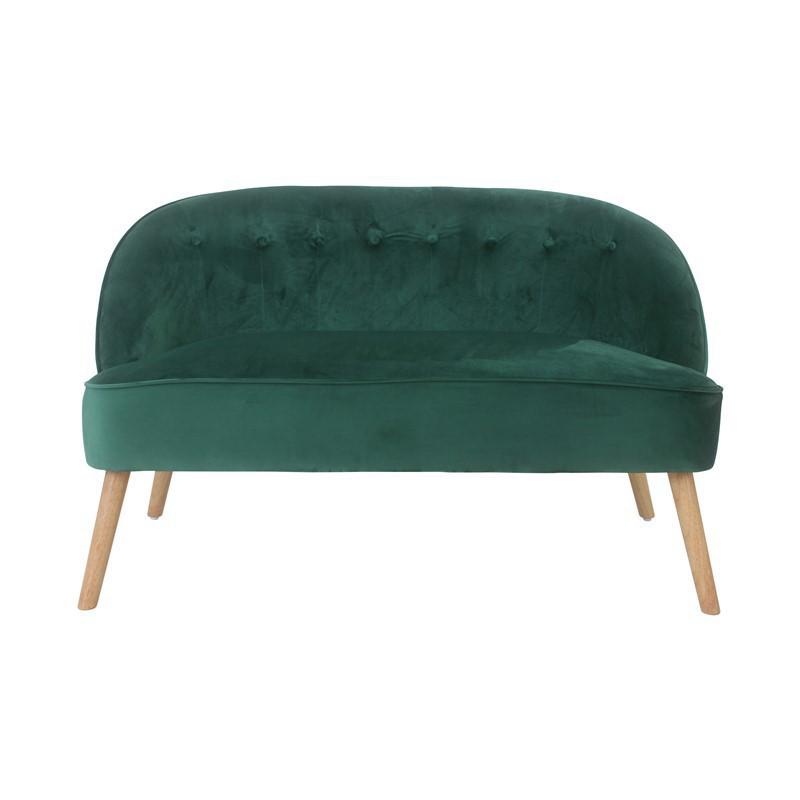 2-seater velvet sofa - MOUZ