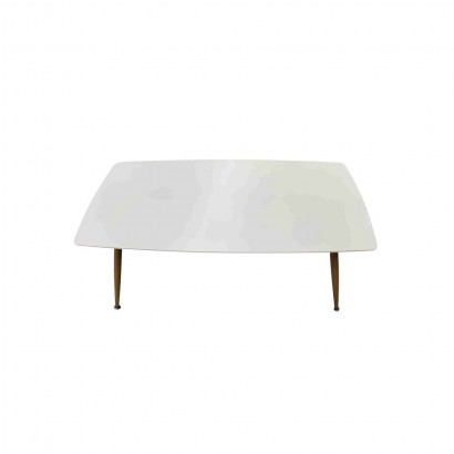 ROSA Wooden coffee table WHITE