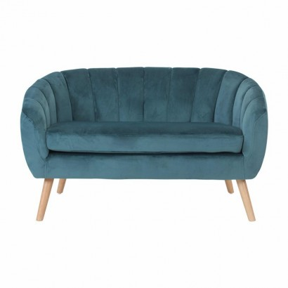 Sofa 2 places in velvet -...