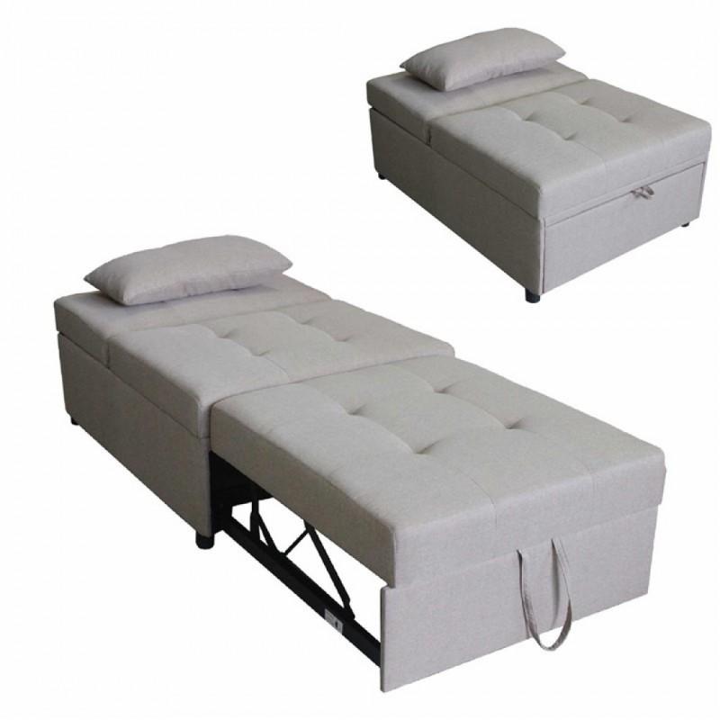 Clic clac Convertible Armchair + cushion AMANDA
