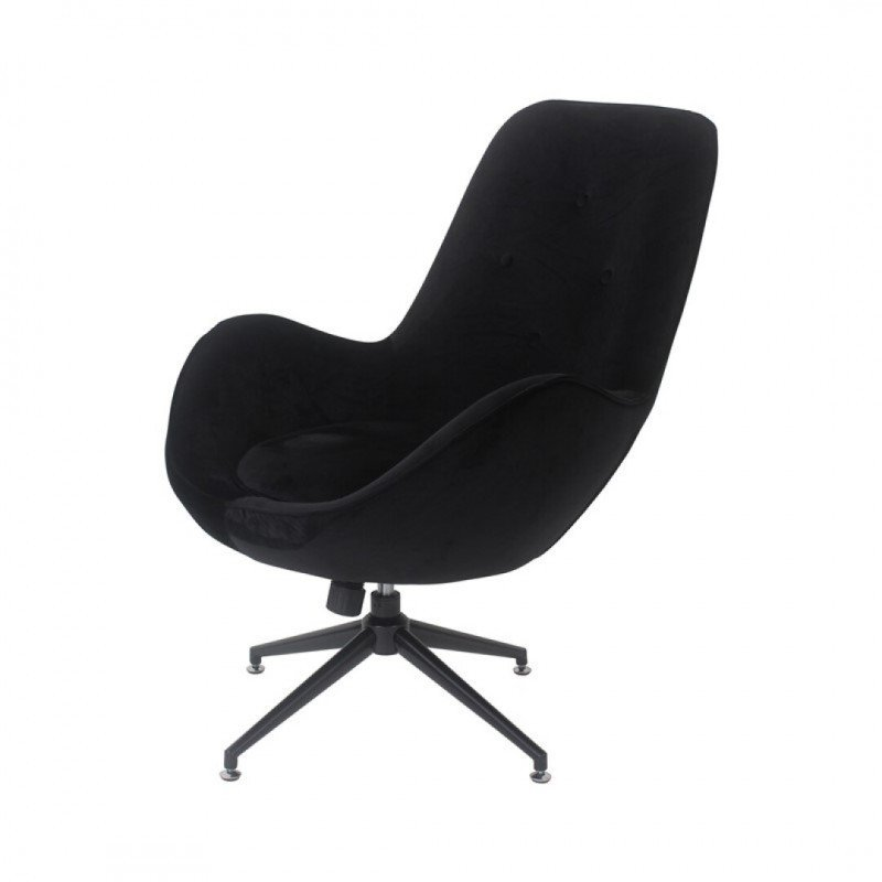 Comfortable swivel and tilting armchair