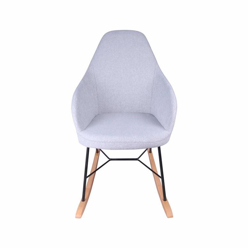 RIZA Rocking Chair in Fabric