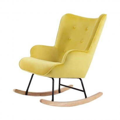 Rocking Chair Velvet MAMA -...