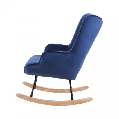 Rocking Chair Velvet MAMA