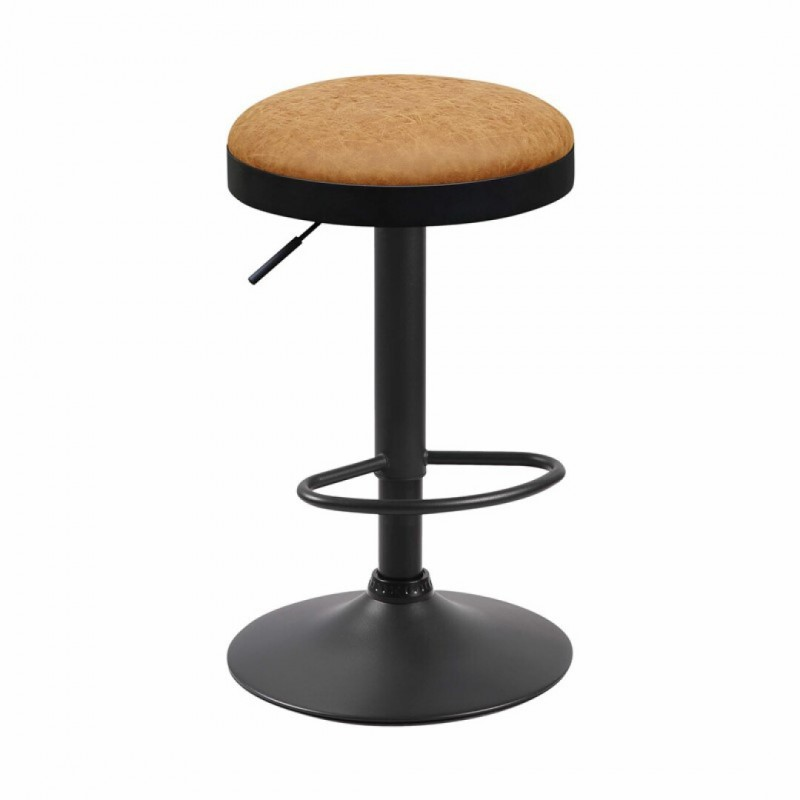 Kitchen stool Height adjustable and swivel