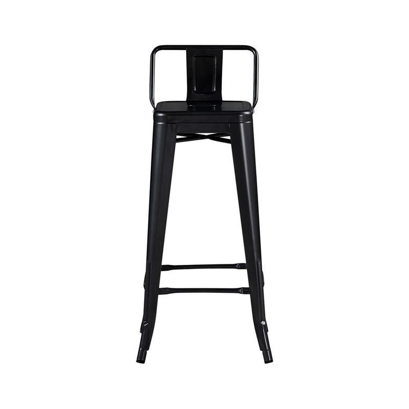 LOT DE 6 Tabouret Bar DESIGN INDUSTRIEL L31xl31x76CM Noir