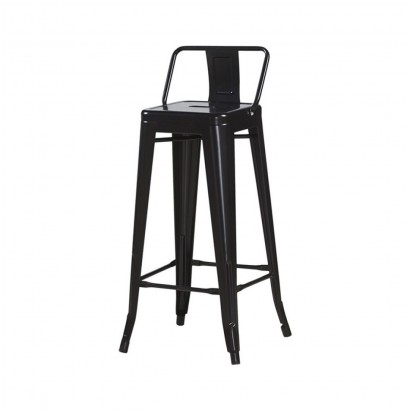 Industrial bar stool with...