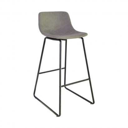CHOLO Bar Stool in leather