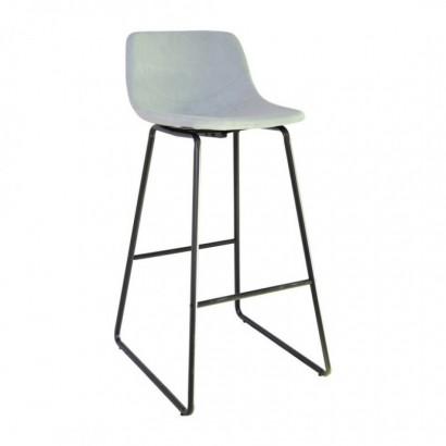 CHOLO Bar Stool in leather...