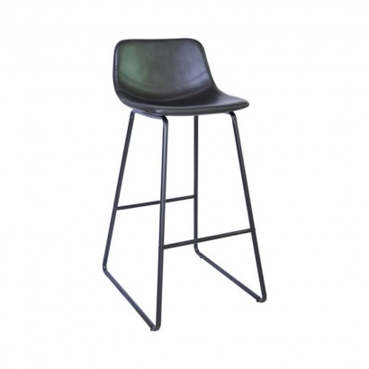 CHOLO Bar Stool in BLACK...