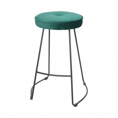 Kitchen Bar Stool - Green -...