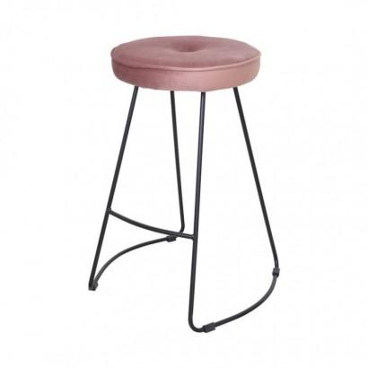 Kitchen Bar Stool - Pink -...