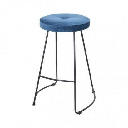 Kitchen Bar Stool - Blue -...