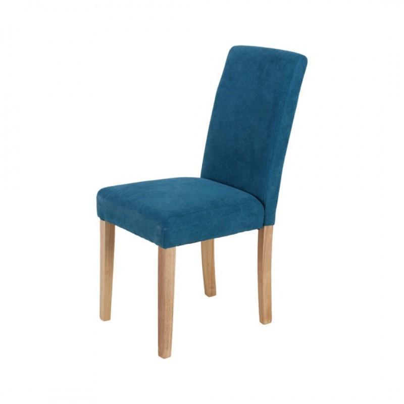 chaises en suédine CION
