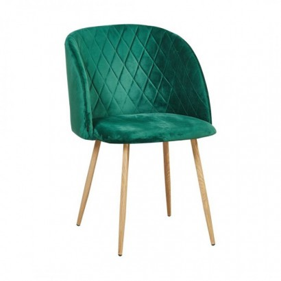 HESTER Chair in velvet -...