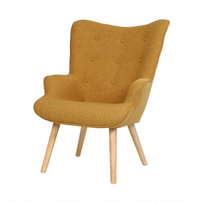 Scandinavian upholstered armchair Helsinki
