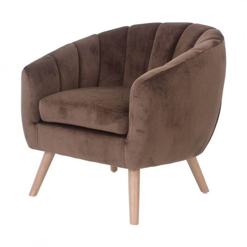 LINO Velvet Armchair