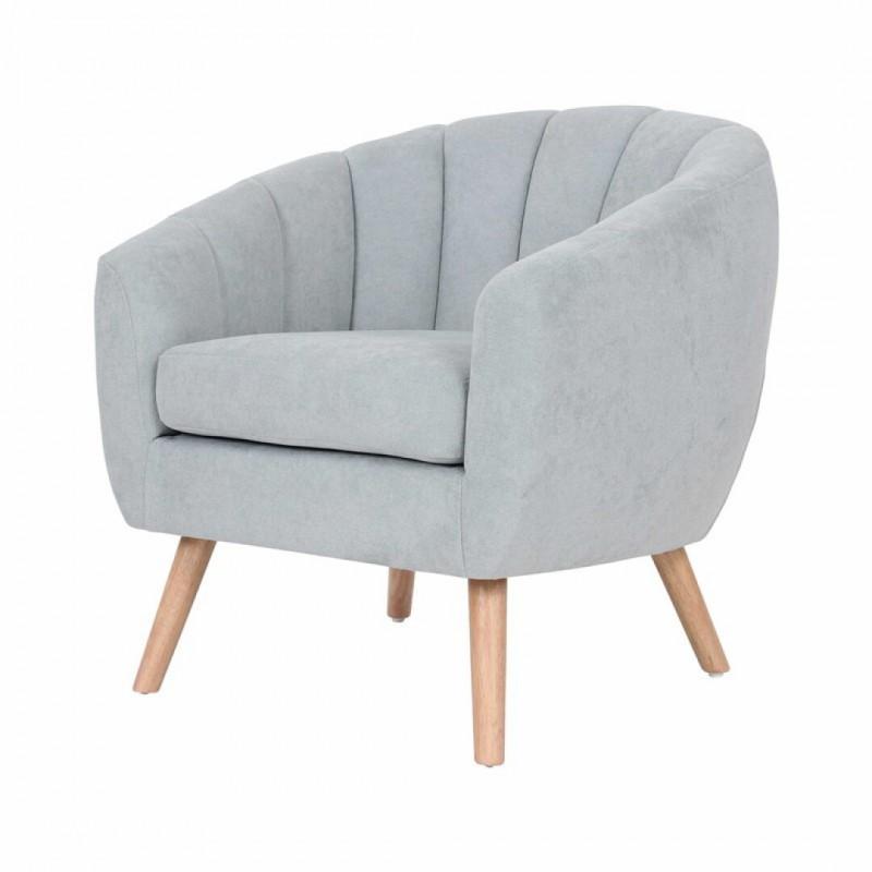 LINO Suede Armchair