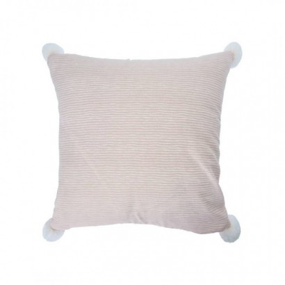Cushion INDAH with pompoms...