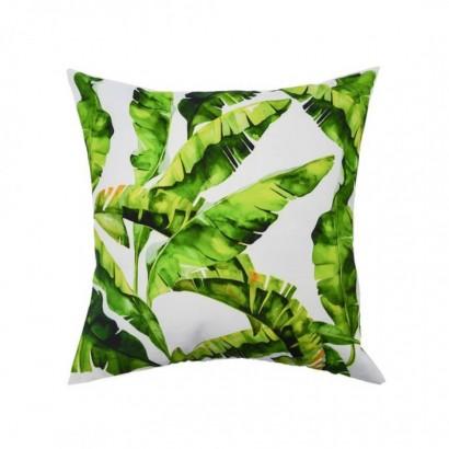 Coussin tropical en tissus...