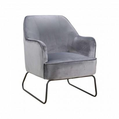 TEO Velvet Armchair