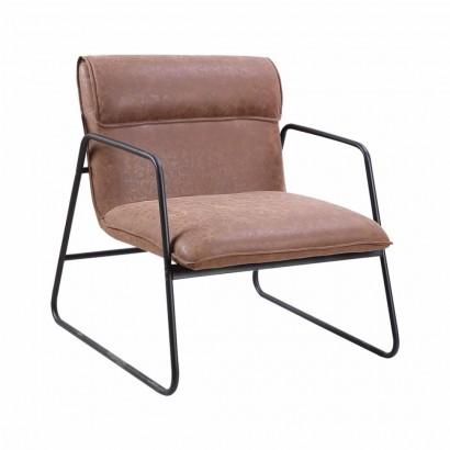 PU Leather Armchair IZA -...