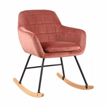 Velvet rocking chair Katel...