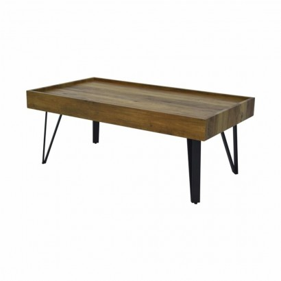 Table basse L. 110 x P. 60 x H. 43cm