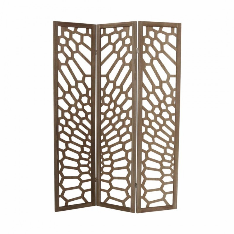 PACO wooden screen 3 panels...