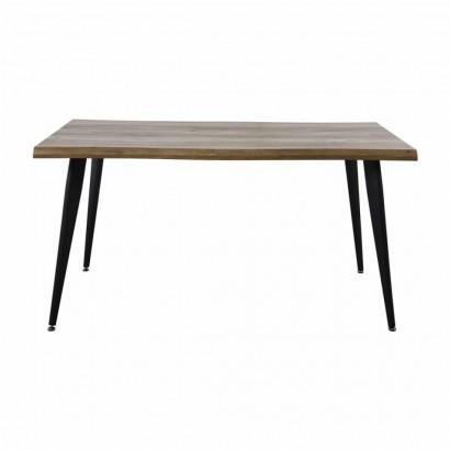 ALEXUS Table salle à manger L.150 x P. 90 x H. 75 cm