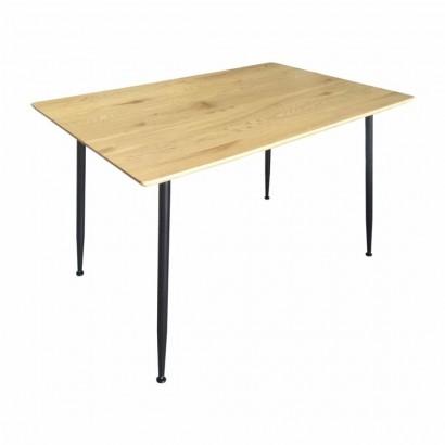 BADUS table à manger rect L. 120 x l. 80 x H. 76cm