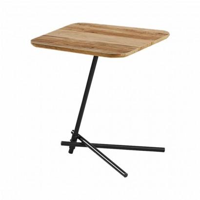 Table d'appoint pieds métal