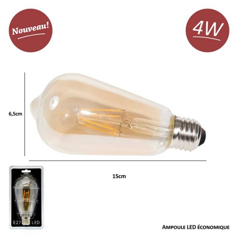 Bulb filament Led vintage LED DECORATIVE 4W