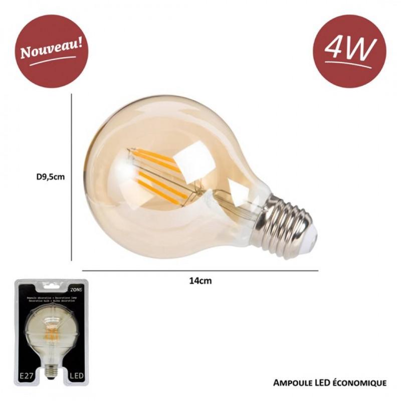 4W Vintage LED Decoratieve Gloeilamp 4W