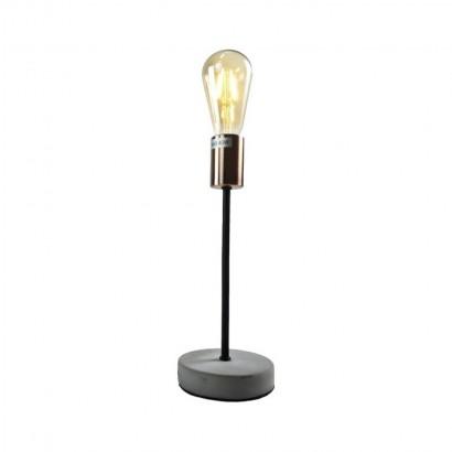 Metal Lamp + LED Copper Bulb