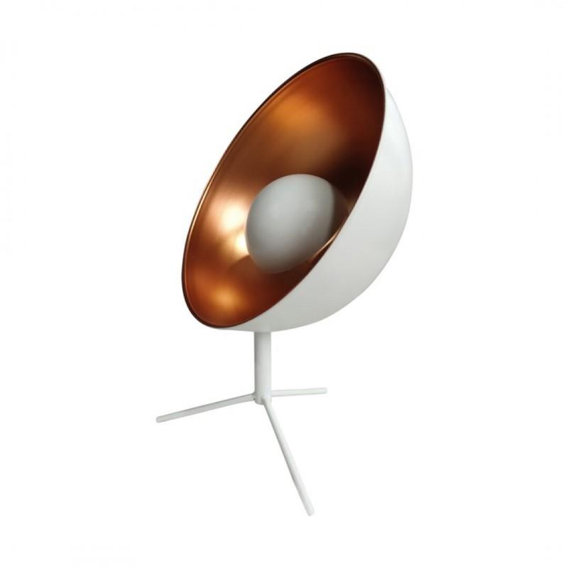Projector Metalen Lamp Wit d30.5cm