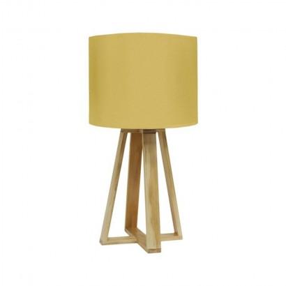 Lampe SCANDI D23xH48cm Jaune