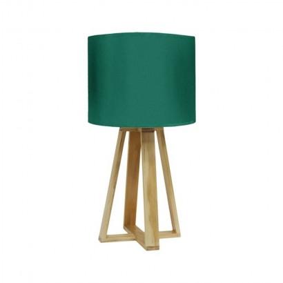 Lampe SCANDI D23xH48cm Vert
