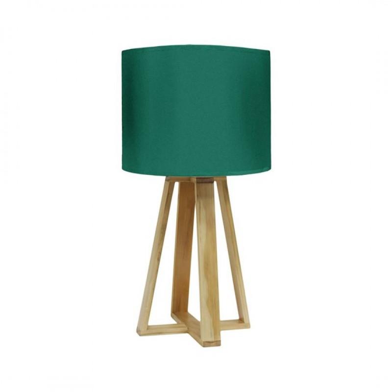 Groene SCANDI-lamp