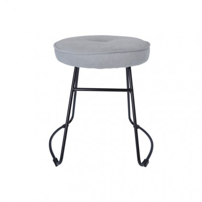Stool with upholstered seat...