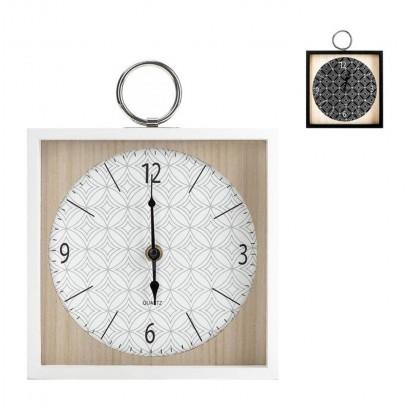 Horloge en Bois BLANC