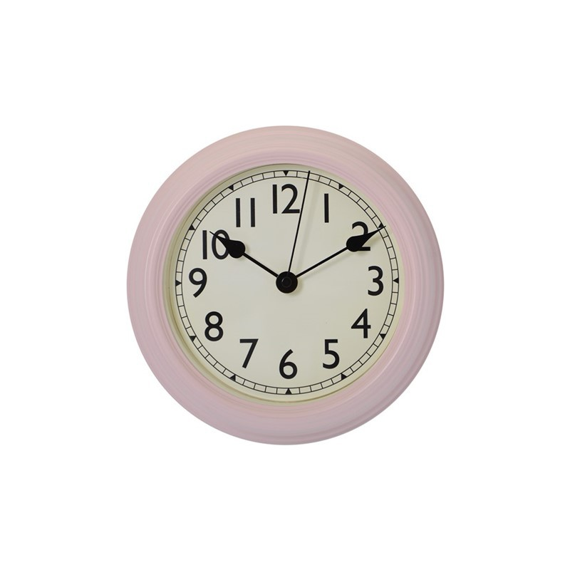 Horloge métal ROSE