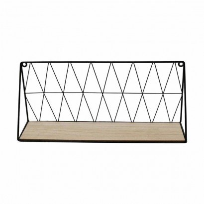 Metal wall shelf Black...