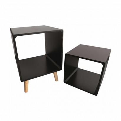 Table d'appoint + étagère...