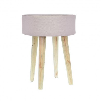 STOOL Removable Slipcover Pink