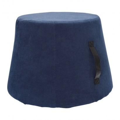 Tabouret en tissus - A Bleu