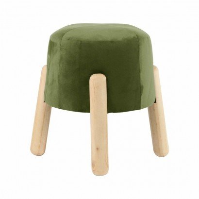 Mini tabouret en velours