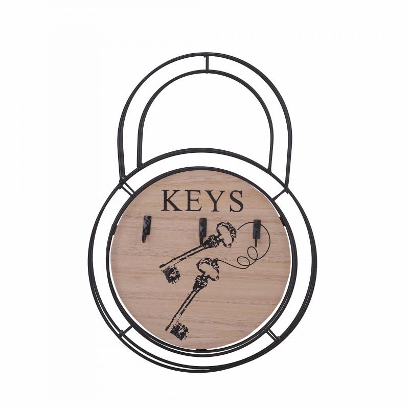 Porte clés Noir avec Crochets 22*21.5*31CM
